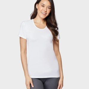 32 Degrees Women Cool Scoop Neck Shirt Small